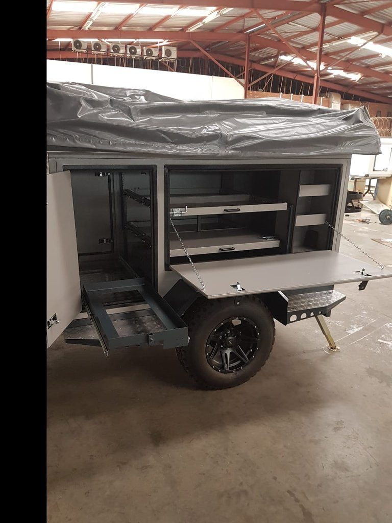 Camp Trailer - Side View