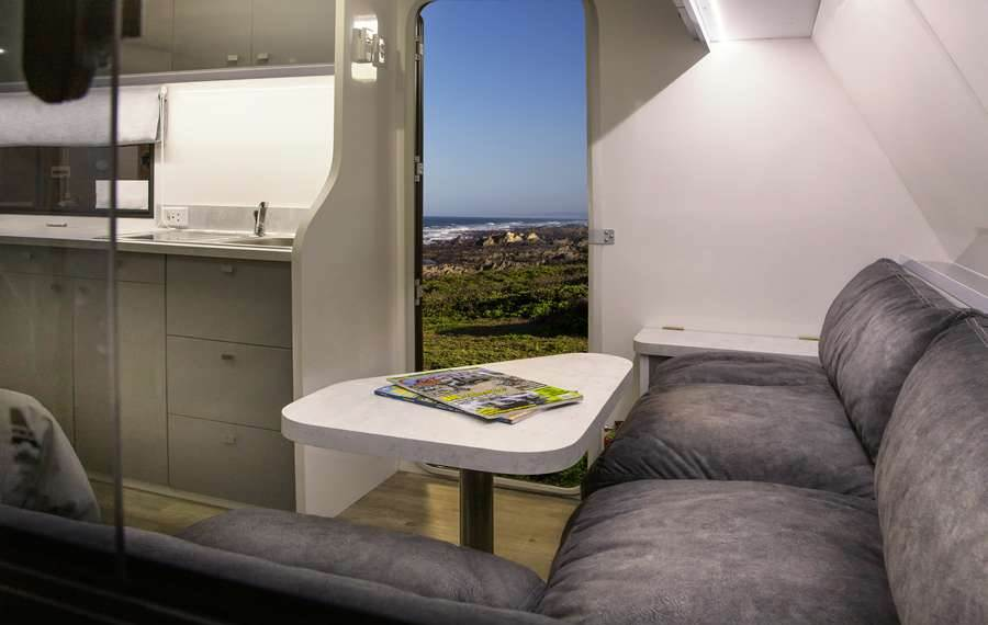 Seating Area - Liberty Cruiser caravan