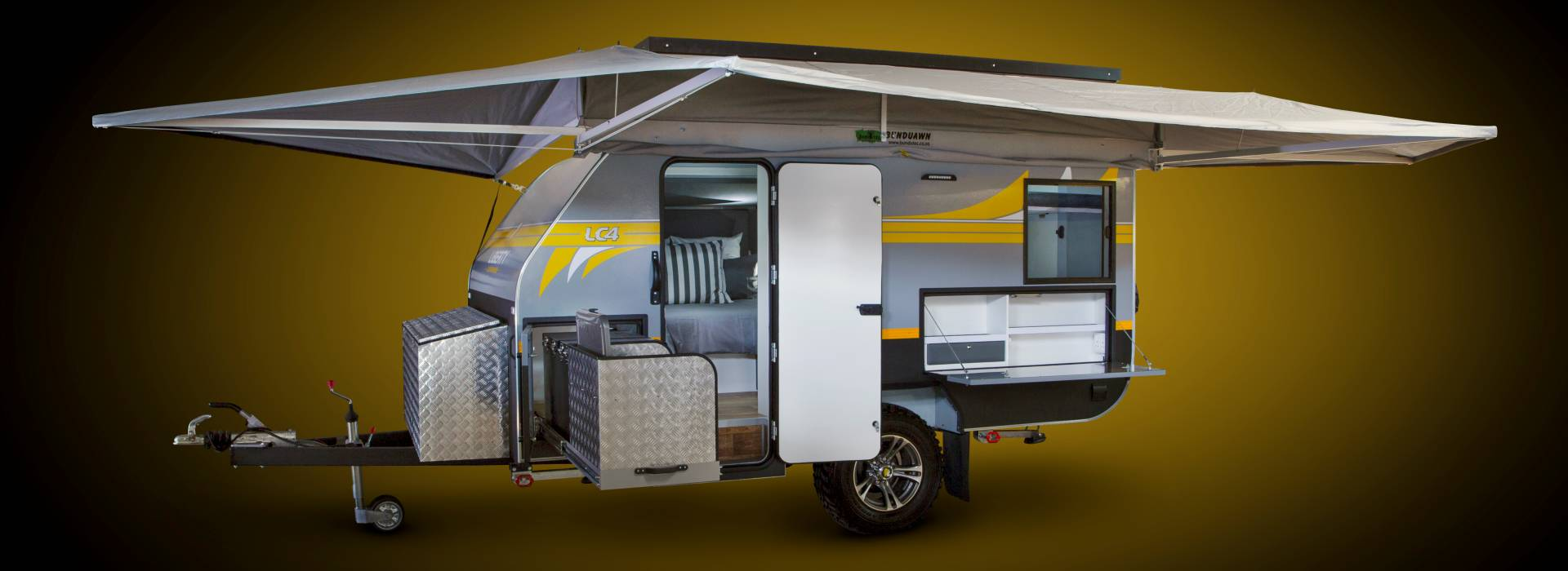 Liberty LC4 Off Road Caravan