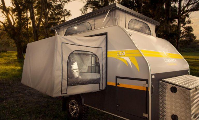 LC4 Off Road Caravan exterior