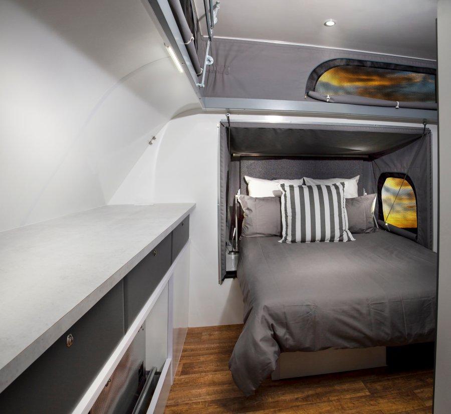 LC4 Caravan Double Bed